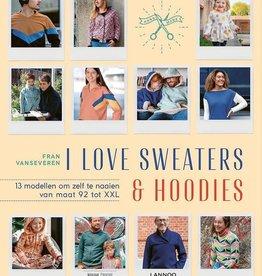 Boek I love Sweaters en hoodies Fran Van Severen