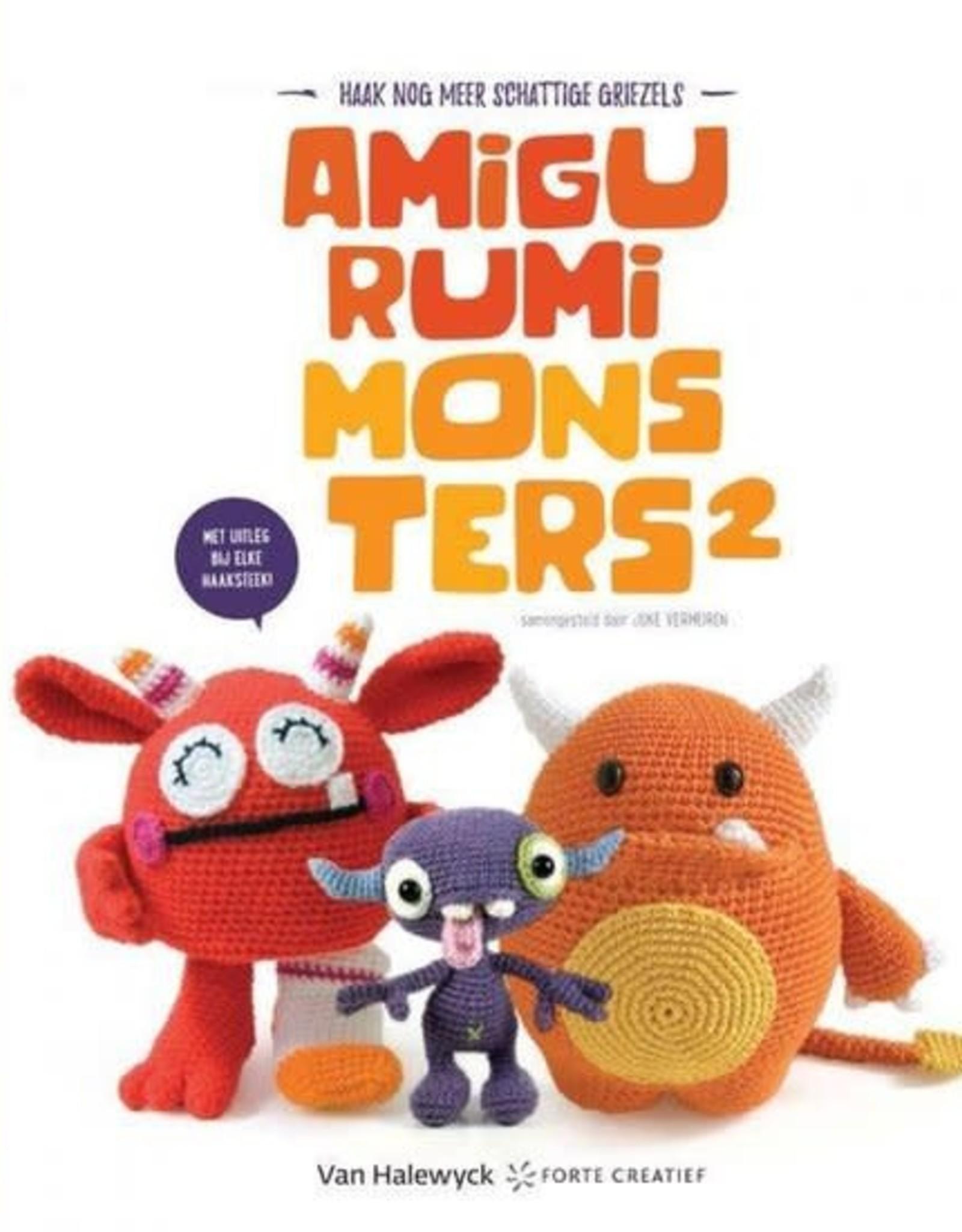 Boek Amigurumi monsters 2 - Joke Vermeiren