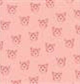 Poppy Poppy Katoen Leopard portrait roze