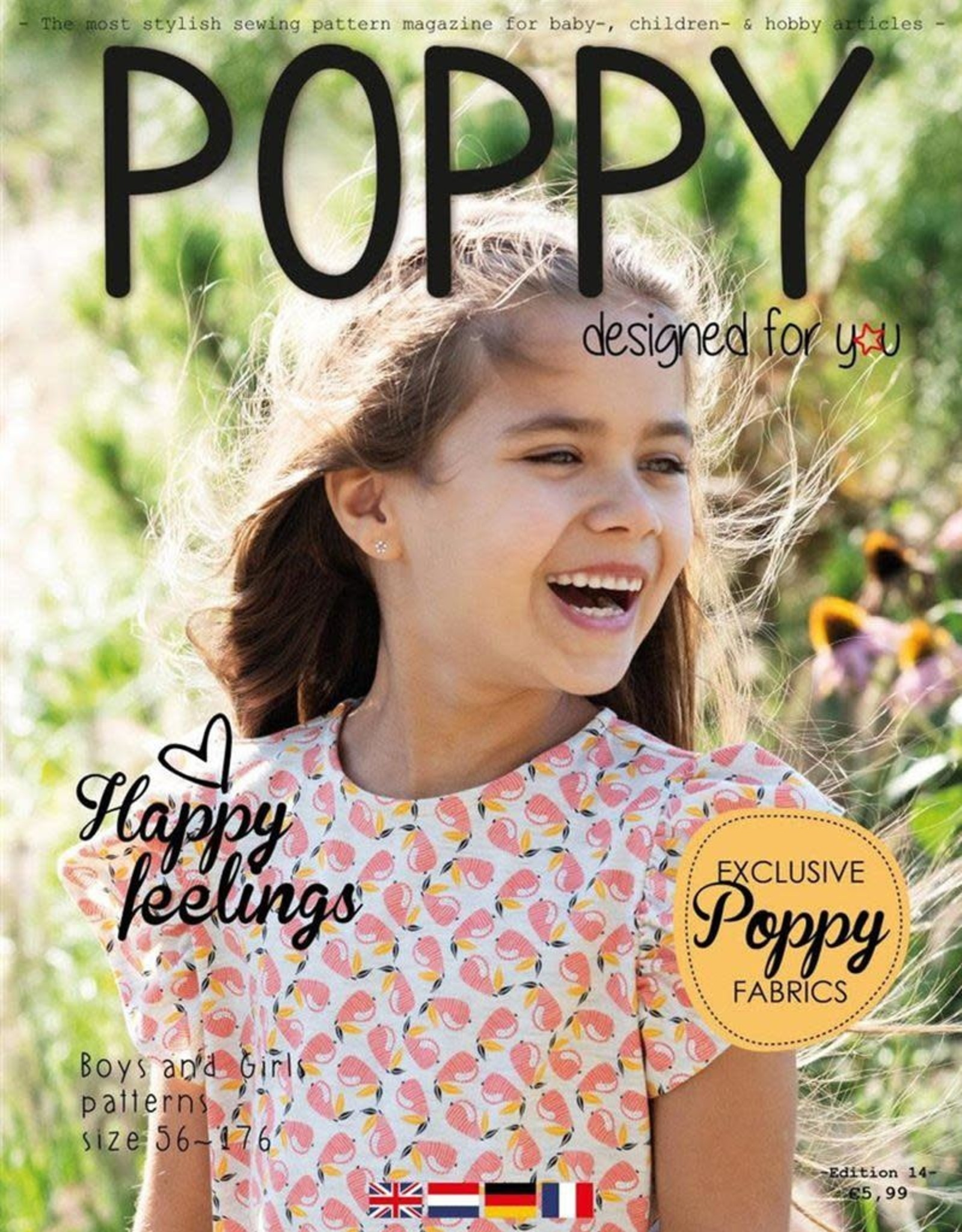Poppy Poppy magazine editie 14