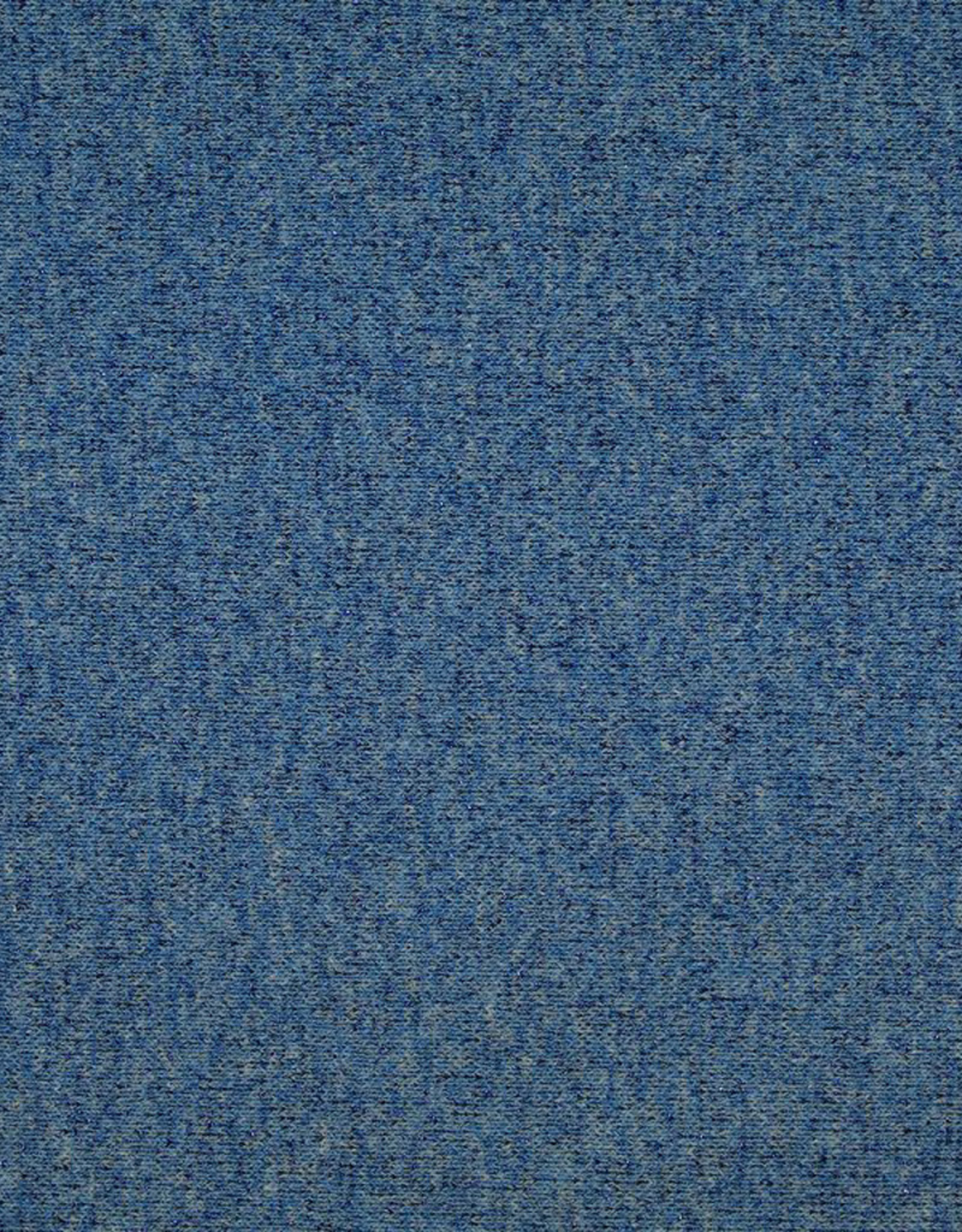 Tube lurex boordstof glitter donkerblauw