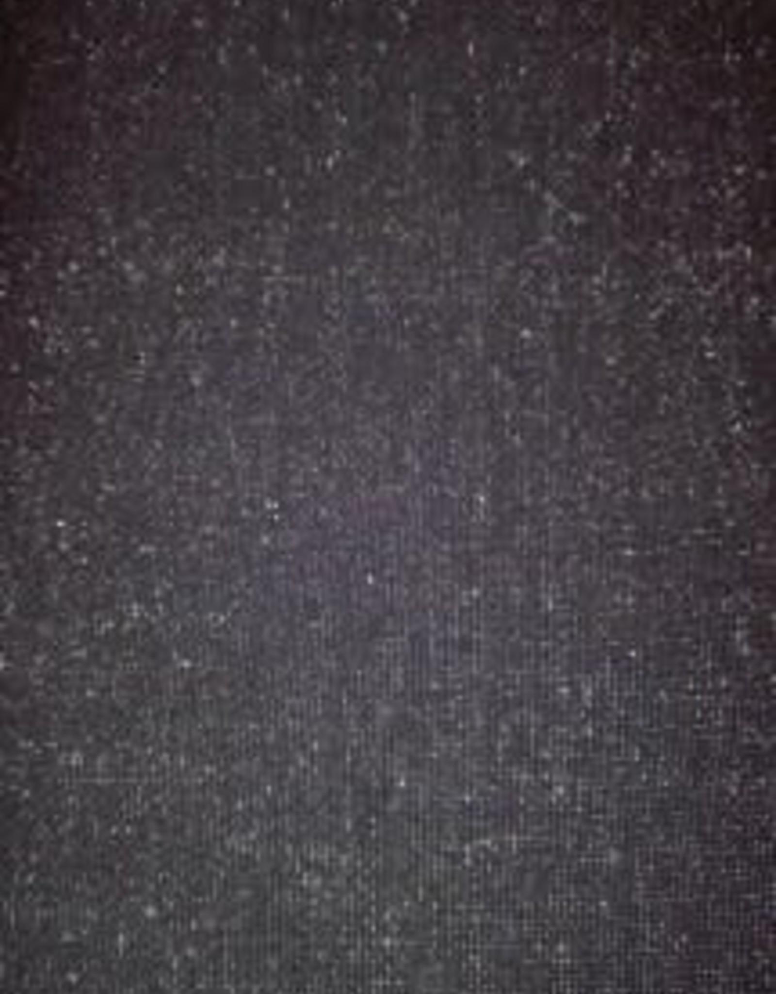 Tube lurex boordstof glitter zwart