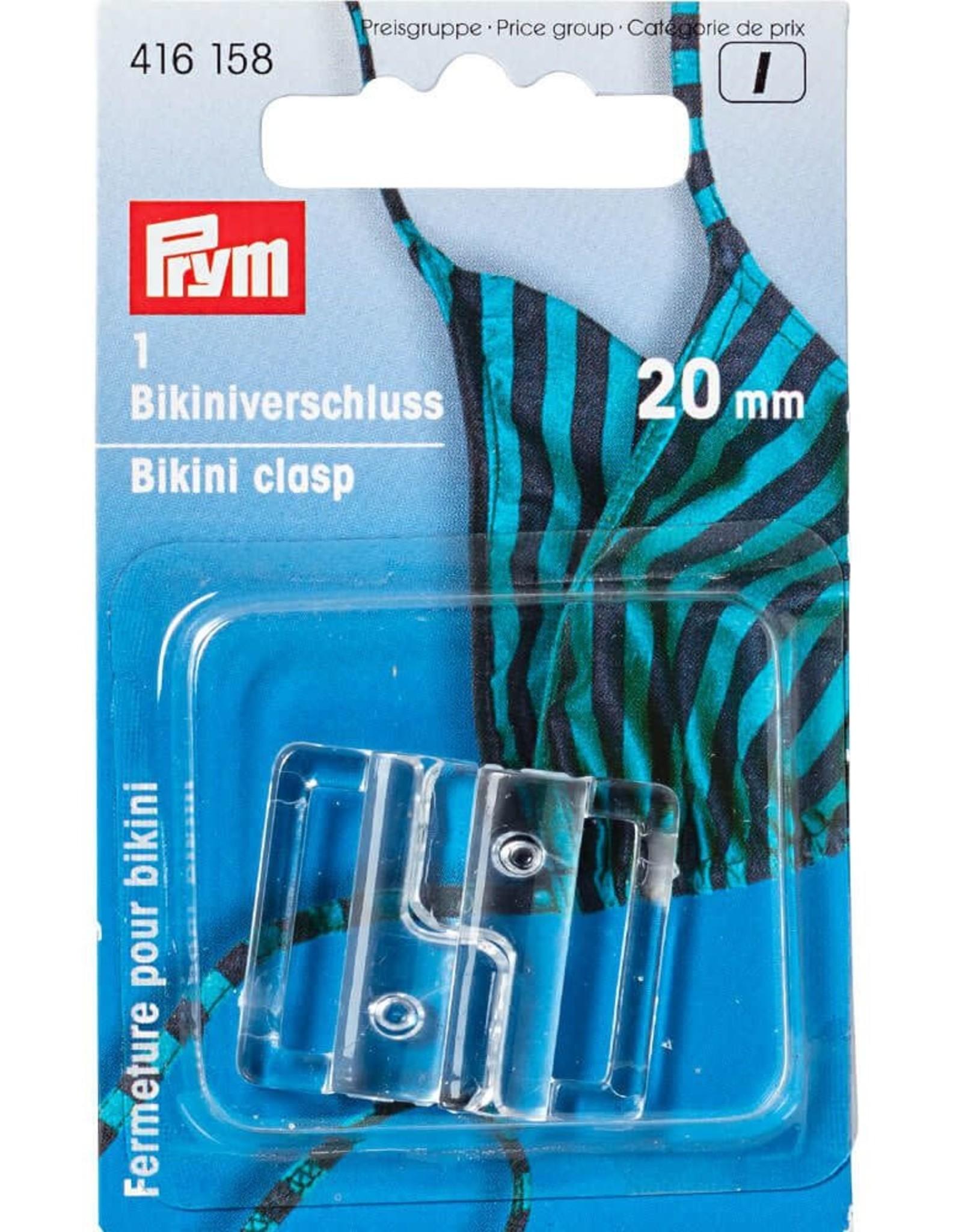Prym Prym BIKINISLUITING HAAK 20mm (1st)