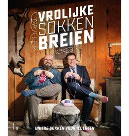 Vrolijke sokken breien - dendennis en mr knitbear