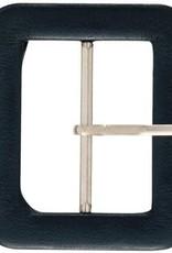 Prym Prym CEINTUURGESP 40mm ZWART LEDERIMITATIE
