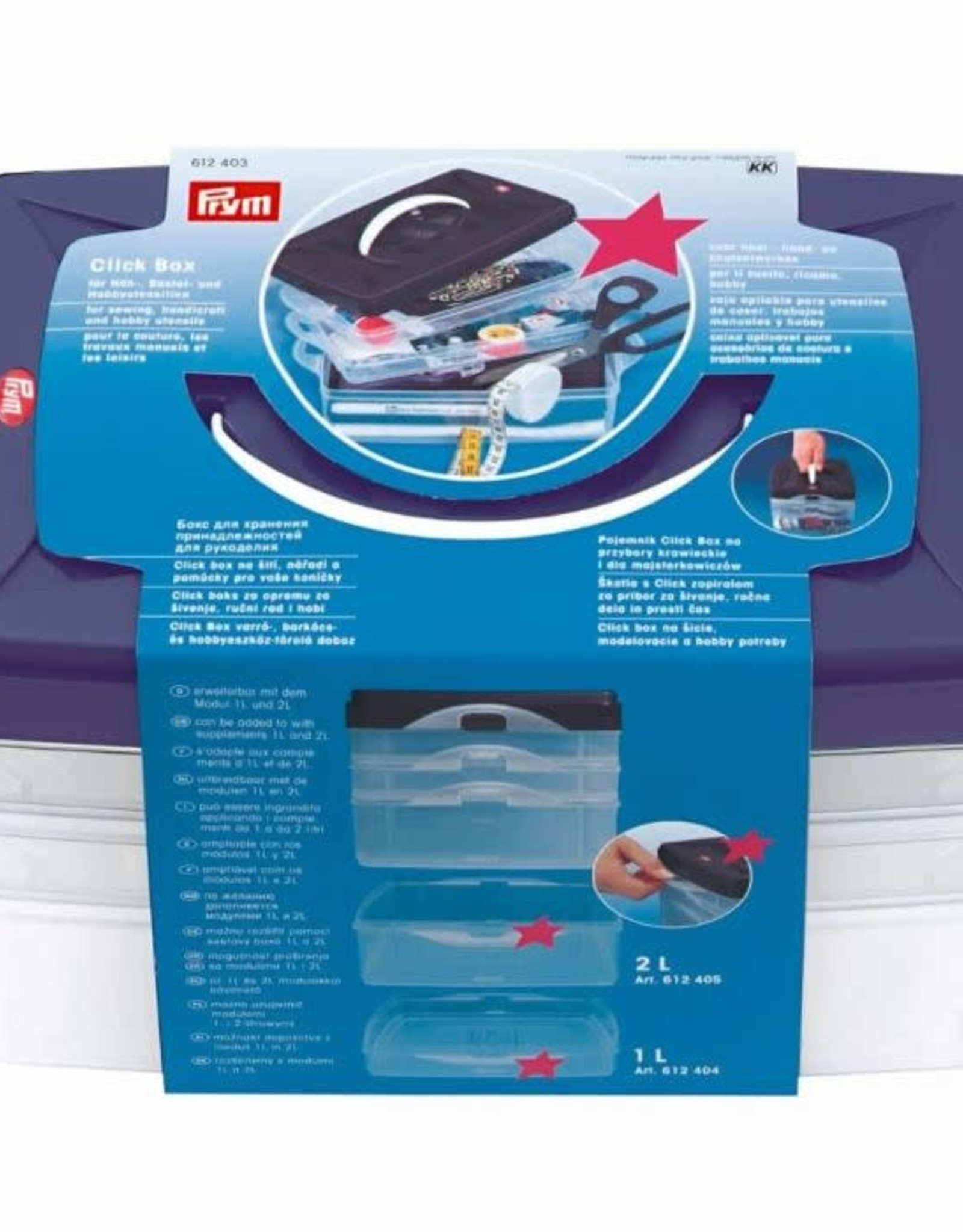 Prym Prym CLICKBOX BASISMODEL 24x16.5x14cm