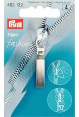 Prym Prym FASHION-ZIPPER CLASSIC ZILVER MAT