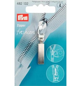 Prym Prym FASHION-ZIPPER CLASSIC ZILVER MAT