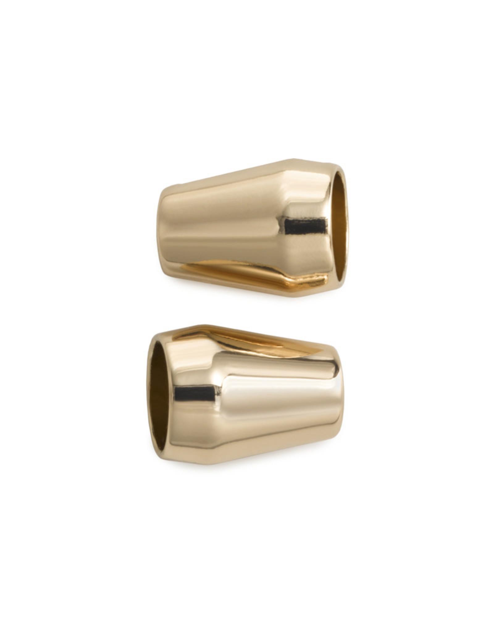 Prym Prym Koordeinden kegelvormig new gold (2st)