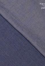 Fibre Mood Fibre Mood katoen chambray denim washed blue dark Debra