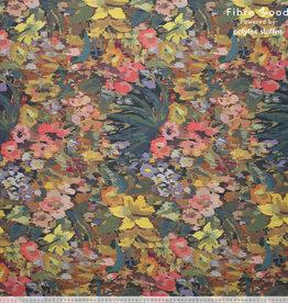 Fibre Mood Fibre Mood viscose crepe flowers Marion