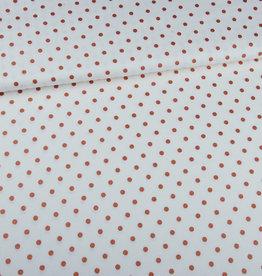 Editex Fabrics Editex Signature linnen/viscose met koperen dots