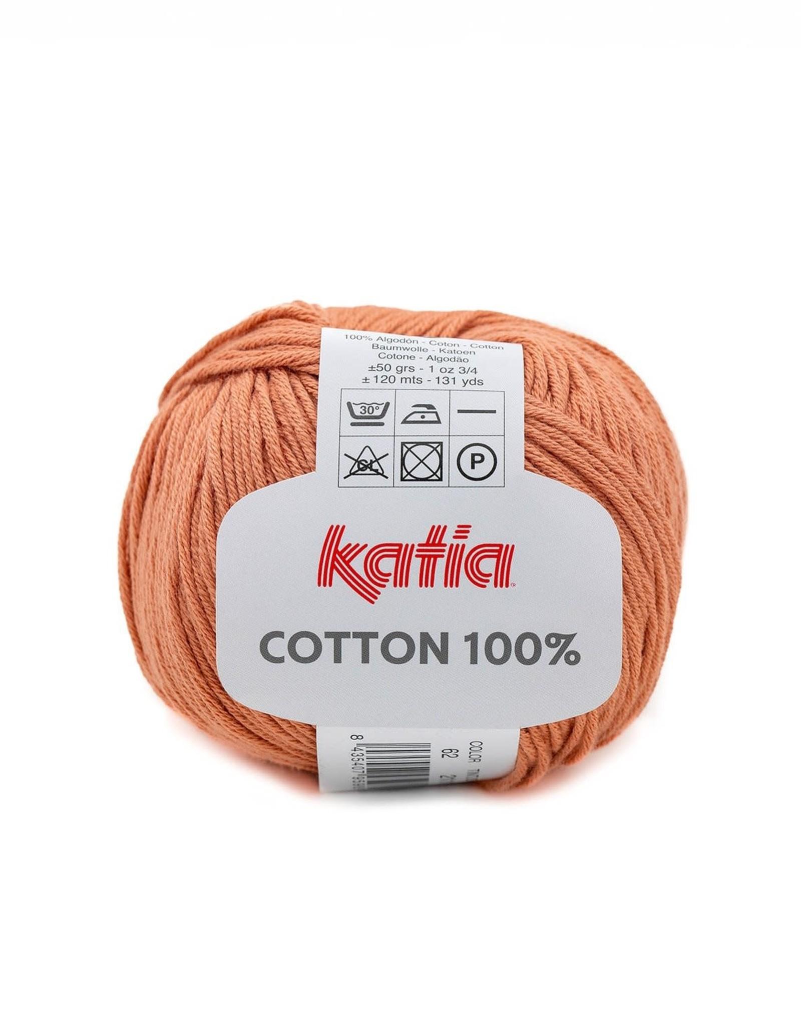 Katia Katia Cotton 100% 62 roestbruin