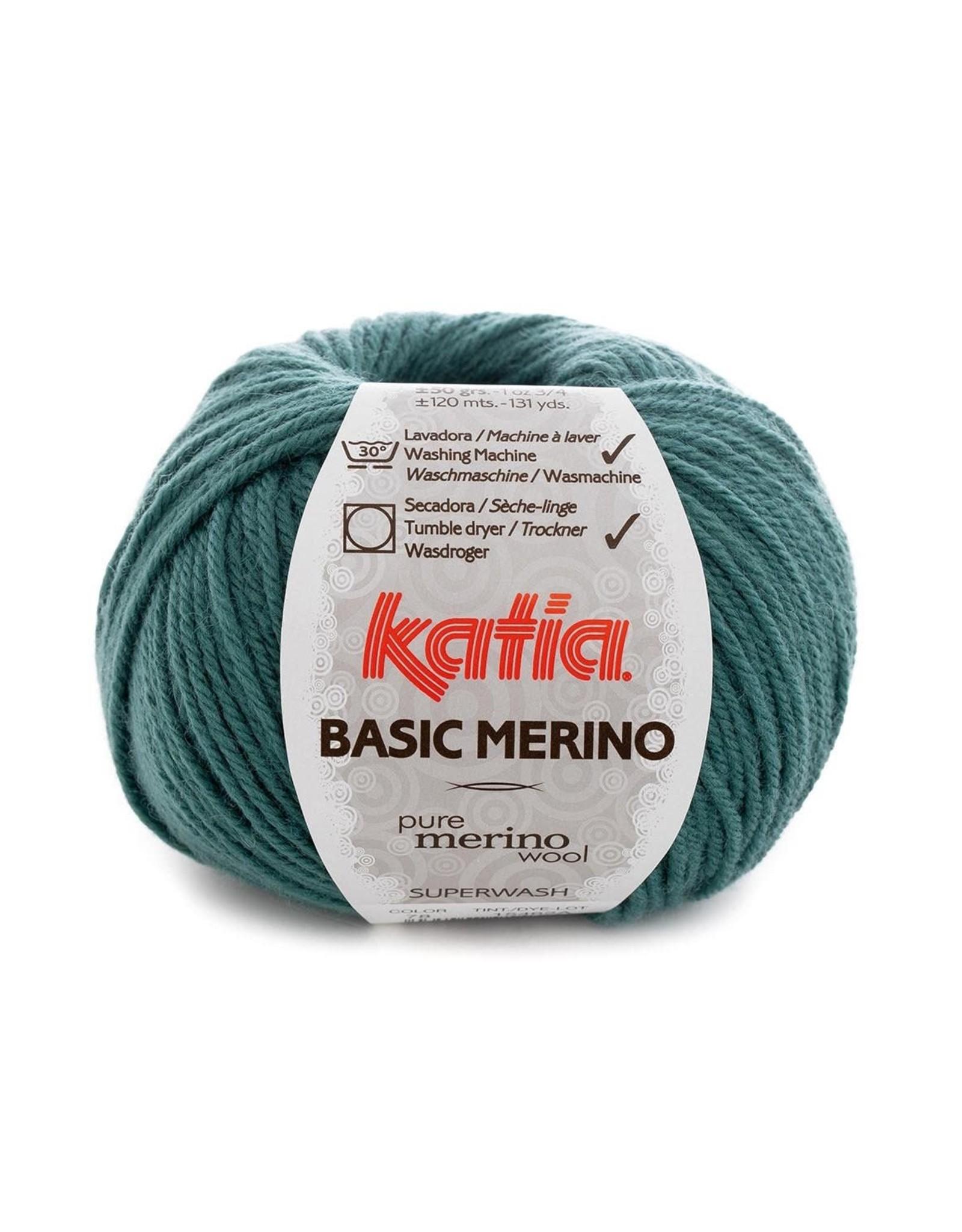 Katia Katia Basic Merino 78 - Smaragdgroen