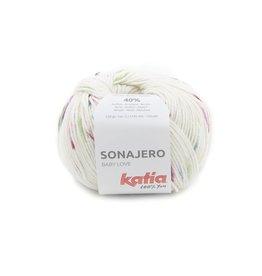 Katia Katia Sonajero 202 - Bleekrood-Groen