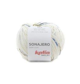 Katia Katia Sonajero 203 - Blauw-Beige