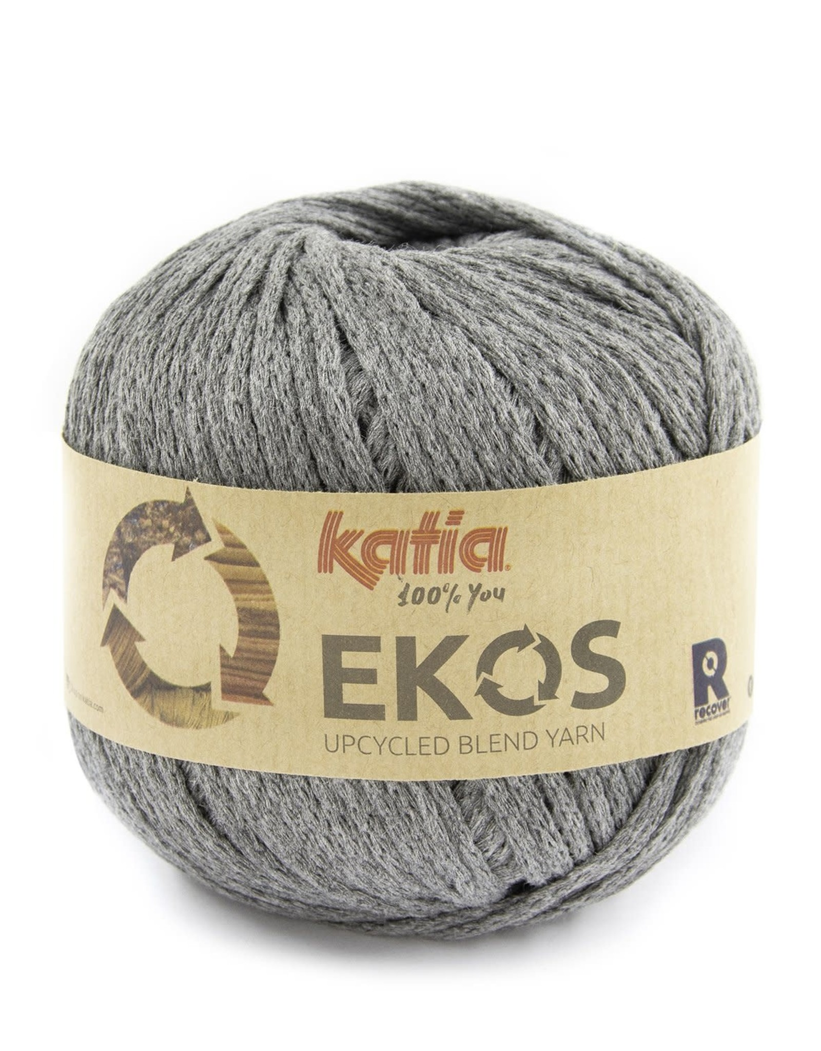 Katia Katia Ekos 102 Donkergrijs