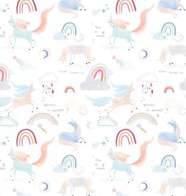 Katia Katia Fabrics Katoen Unicorn in the air p 102