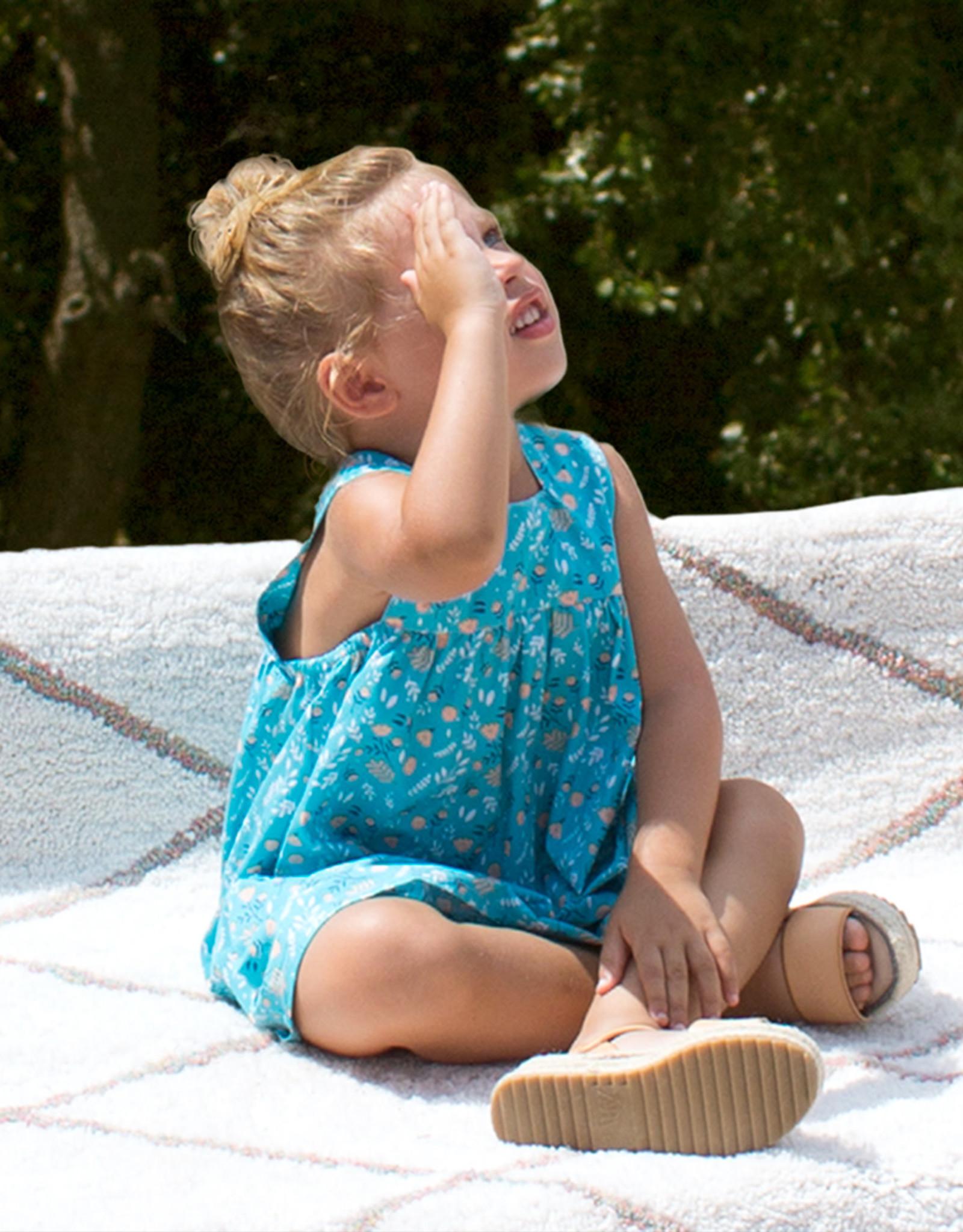 Katia Katia Fabrics Katoen Salinas Birds Blue p88