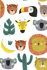 Katia Katia Fabrics Katoen Jungle Heros p 104