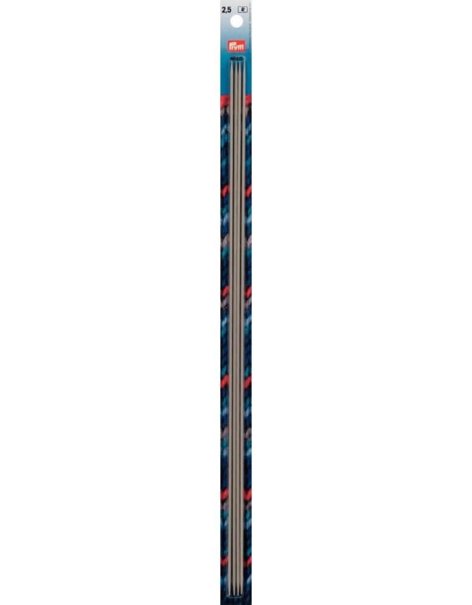 Prym Prym Kousenbreinaalden 40 cm 2.5 mm aluminium