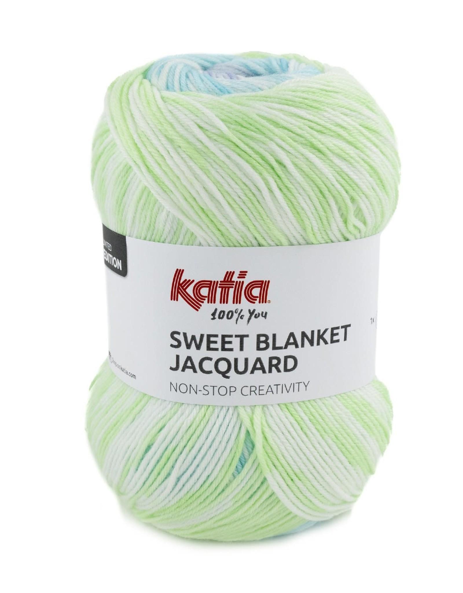 Katia Sweet Blanket Jacquard 305