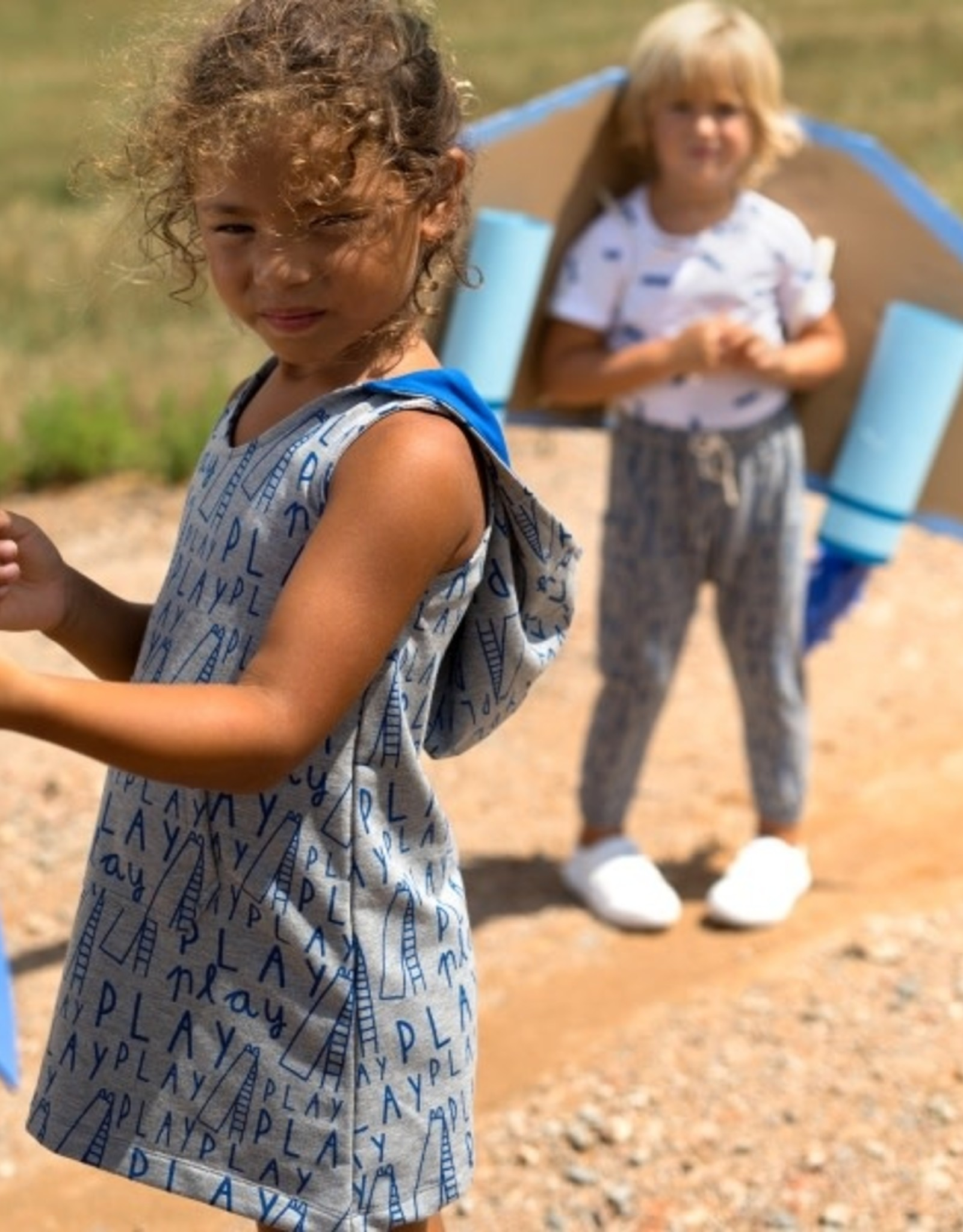 Katia Katia Fabrics Summer Sweat Melange Don't Forget to Play SS4