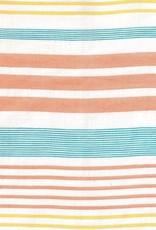 Katia Katia Fabrics Panama Stripes Orange PS 2