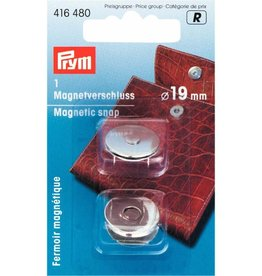 Prym Prym MAGNEETSLUITING 19mm ZILVER