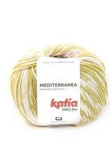 Katia Katia  Mediterranea 307 - Citroengeel-Koraal-Waterblauw