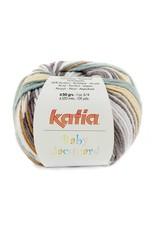 Katia Katia Baby Jacquard 91 - Zandgeel-Grijs-Witgroen