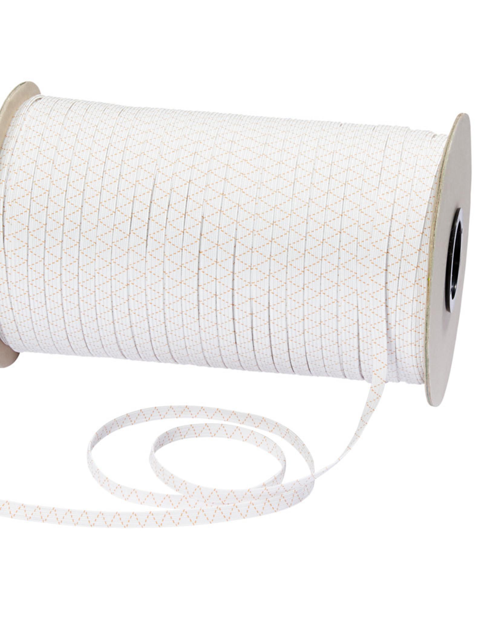 Prym prym elastiek 7 mm  wit