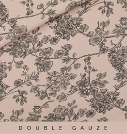 See You At Six See You At Six Double Gauze Cherry Blossom – Pale Pink