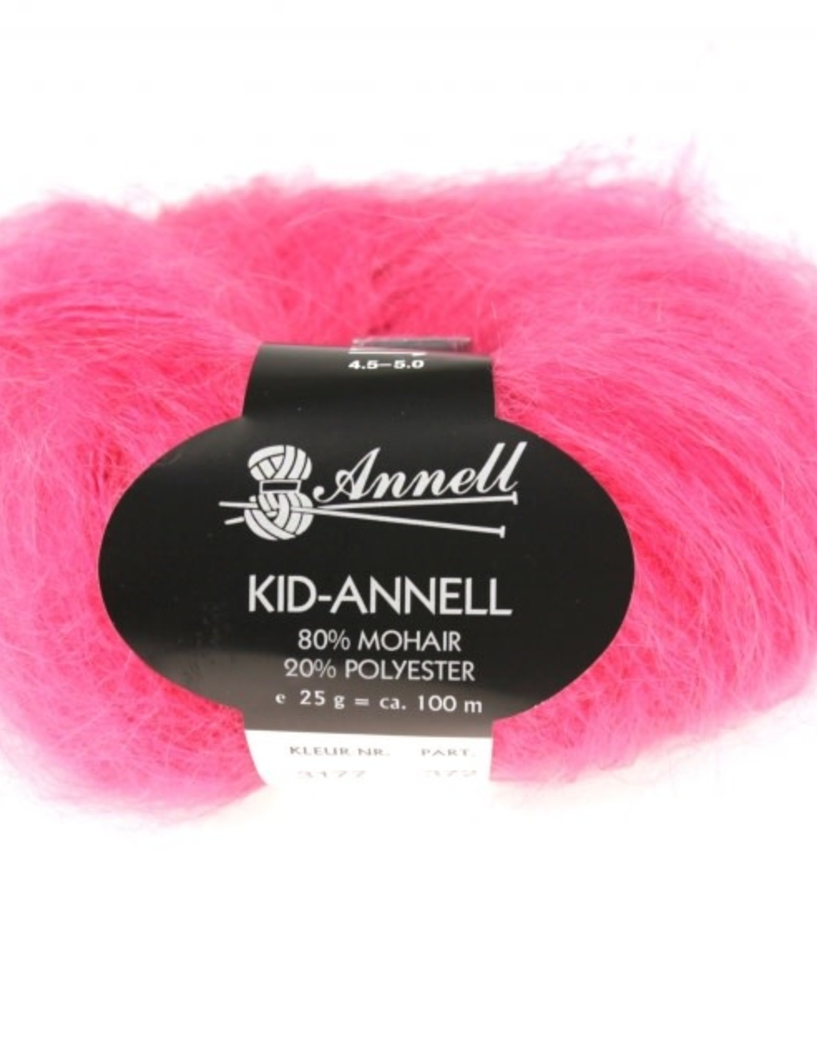 Annell Annell Kid Annell 3177 - aardbei roos