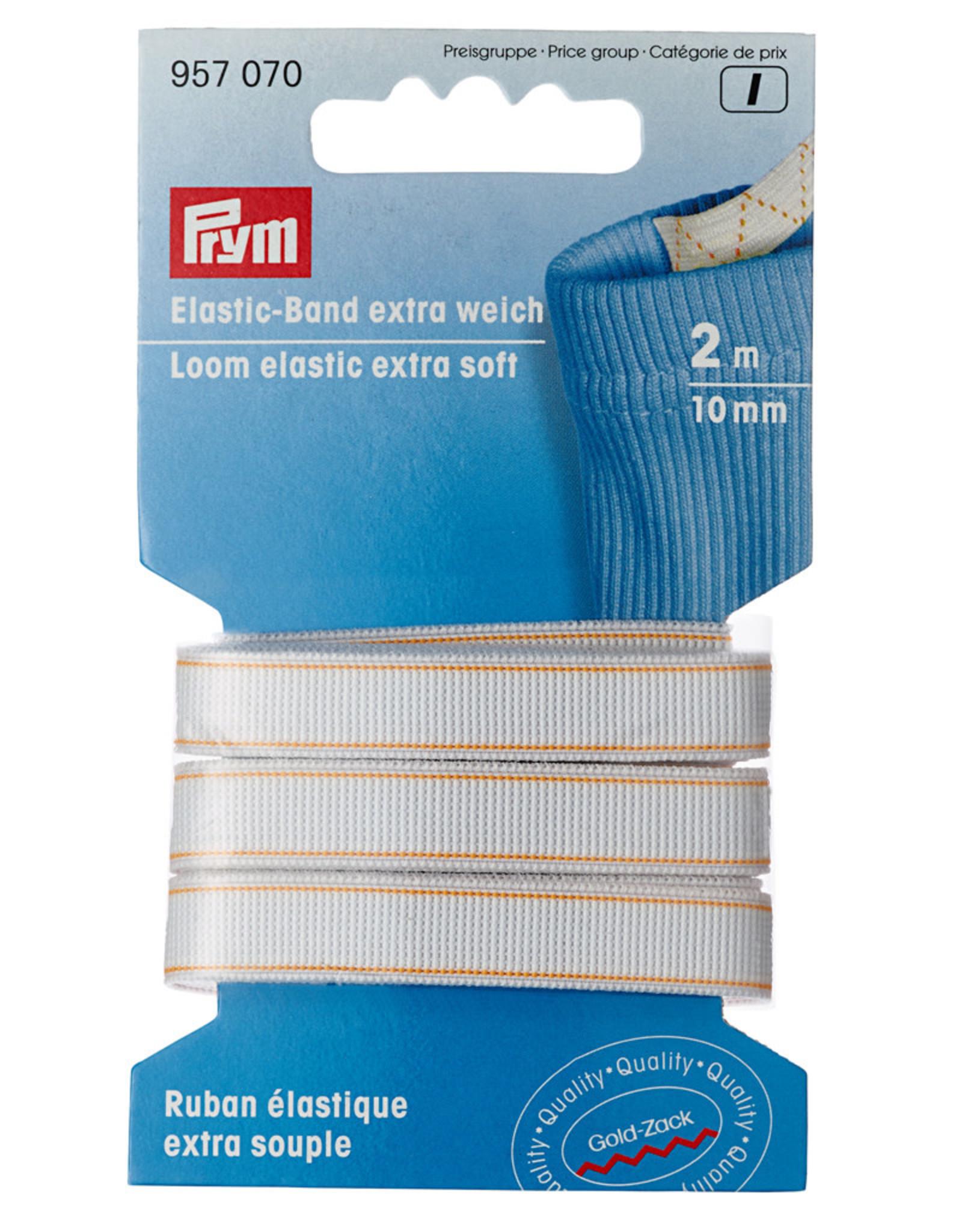 Prym Prym band elastiek extra zacht wit 1cm