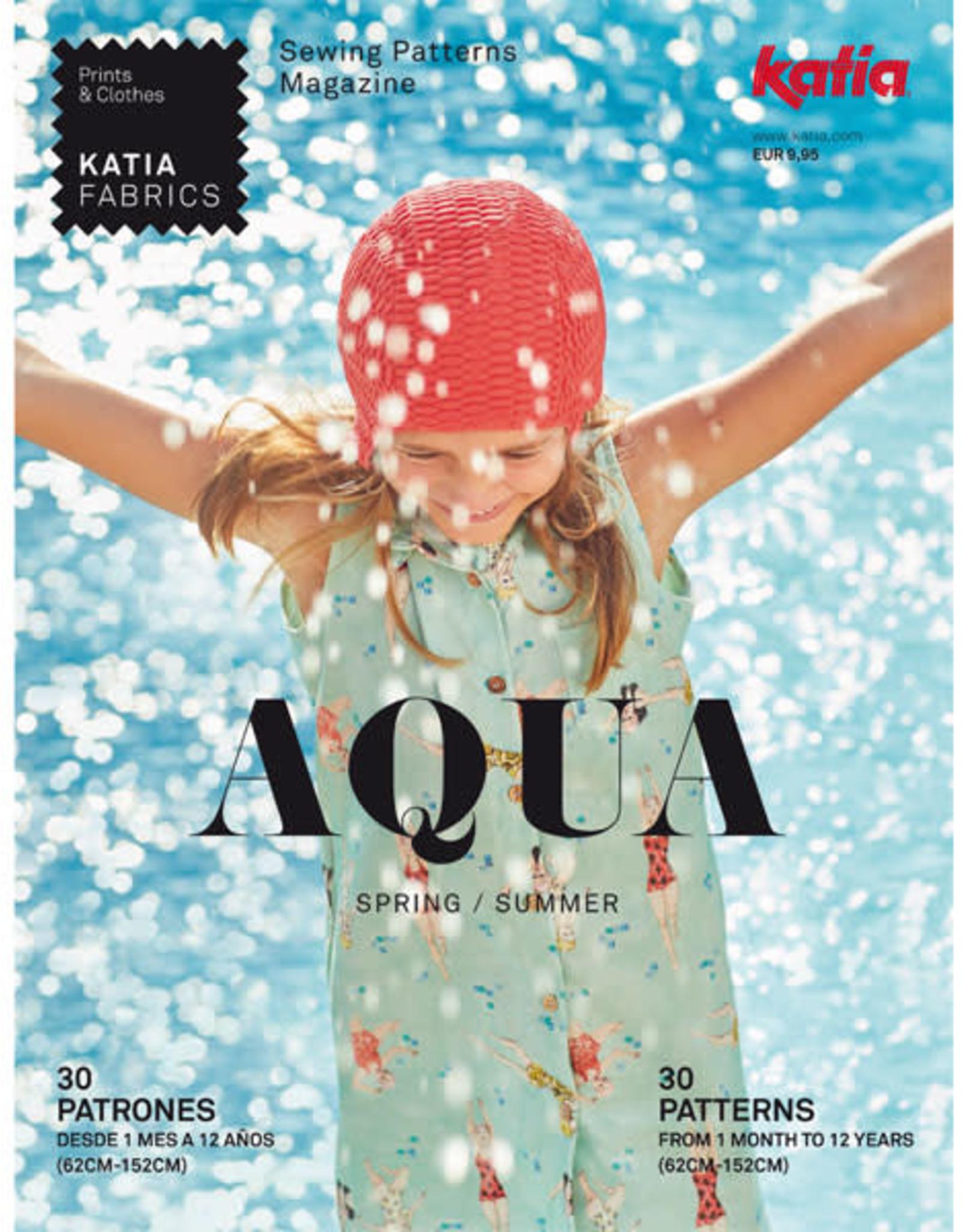 Katia Katia Fabrics magazine Aqua Lente / Zomer