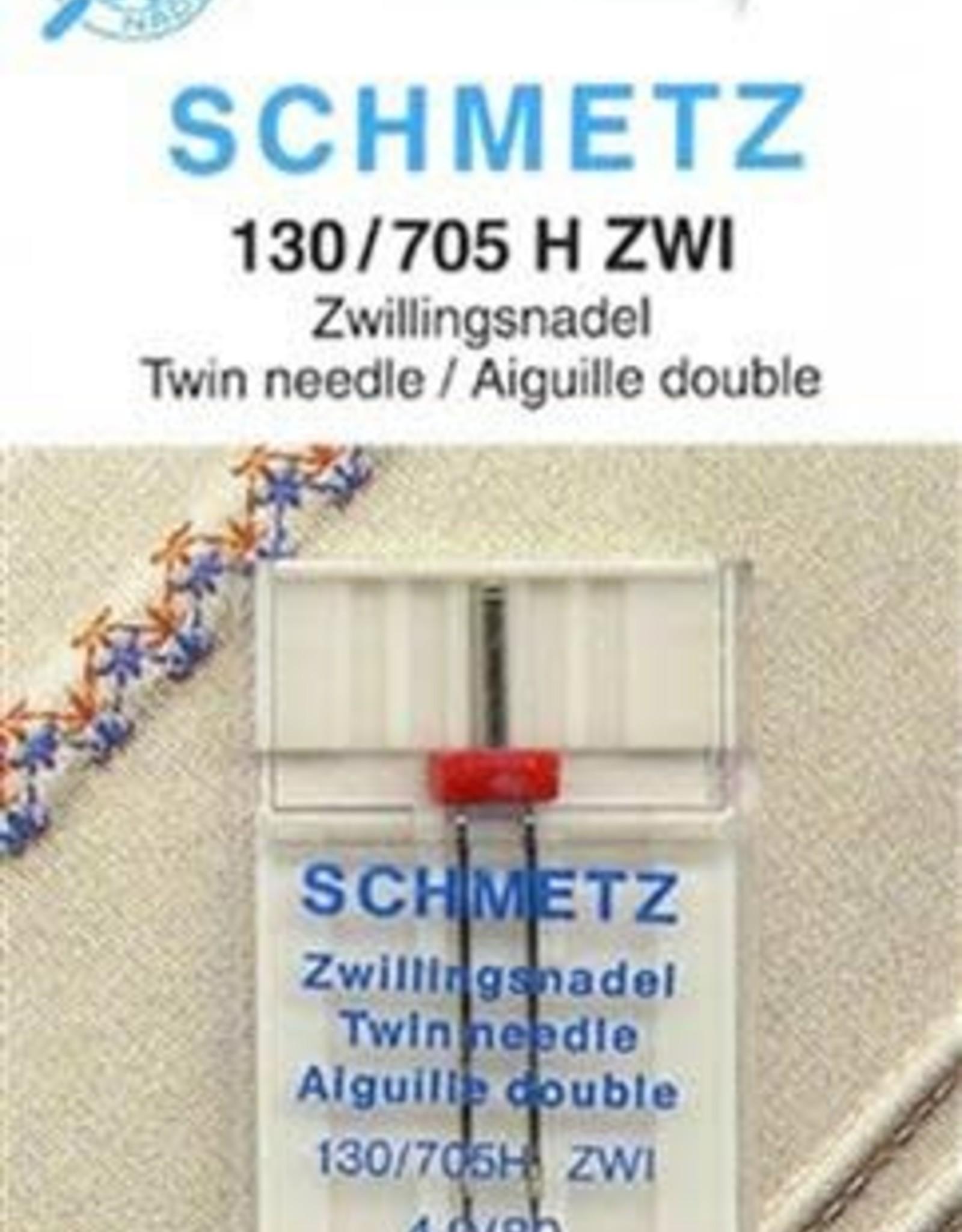 Schmetz schmetz tweelingnaald  universeel 4.0/80