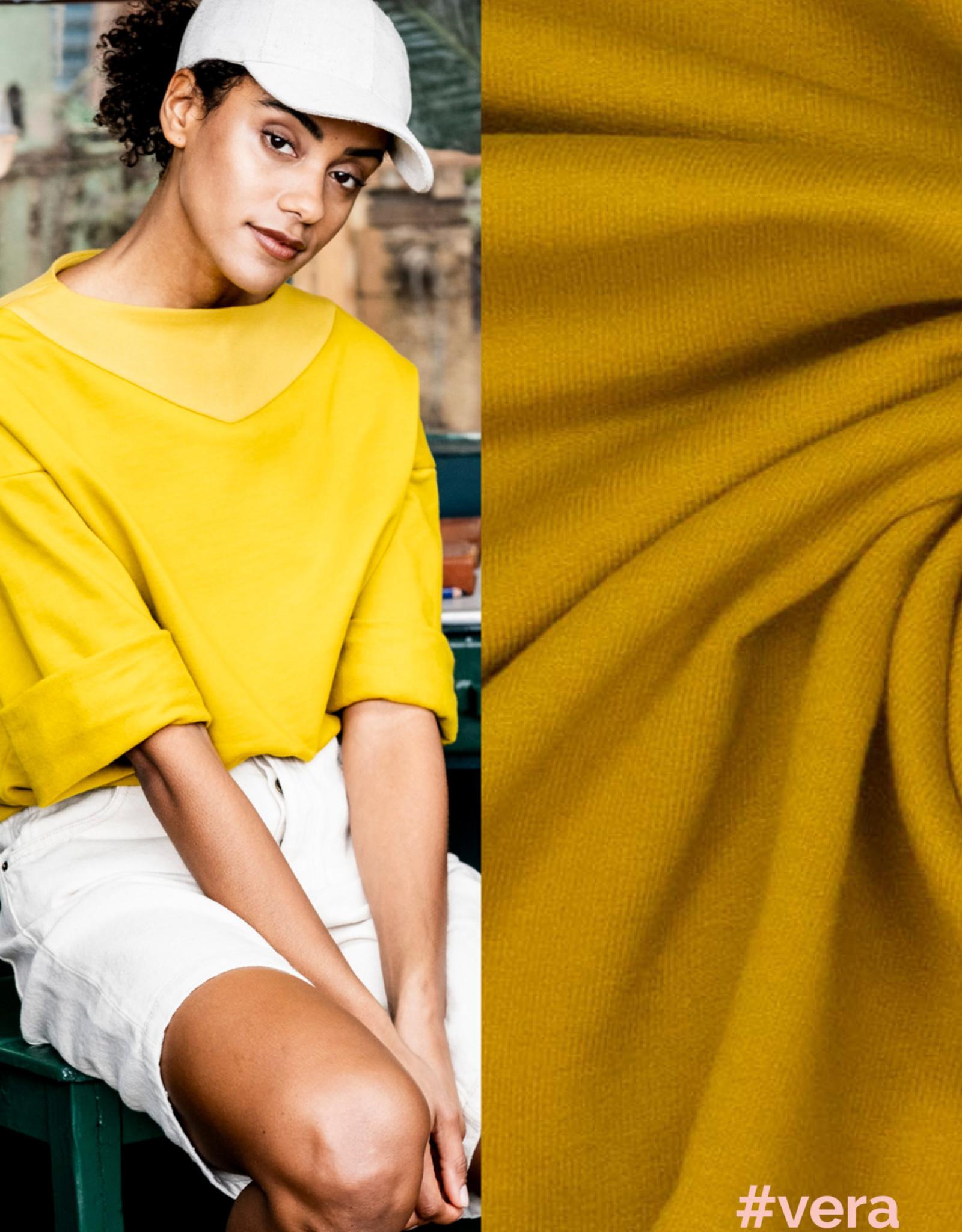 Fibre Mood Fibre Mood editie 14 Knit Boordstof Golden Palm Joy + Vera