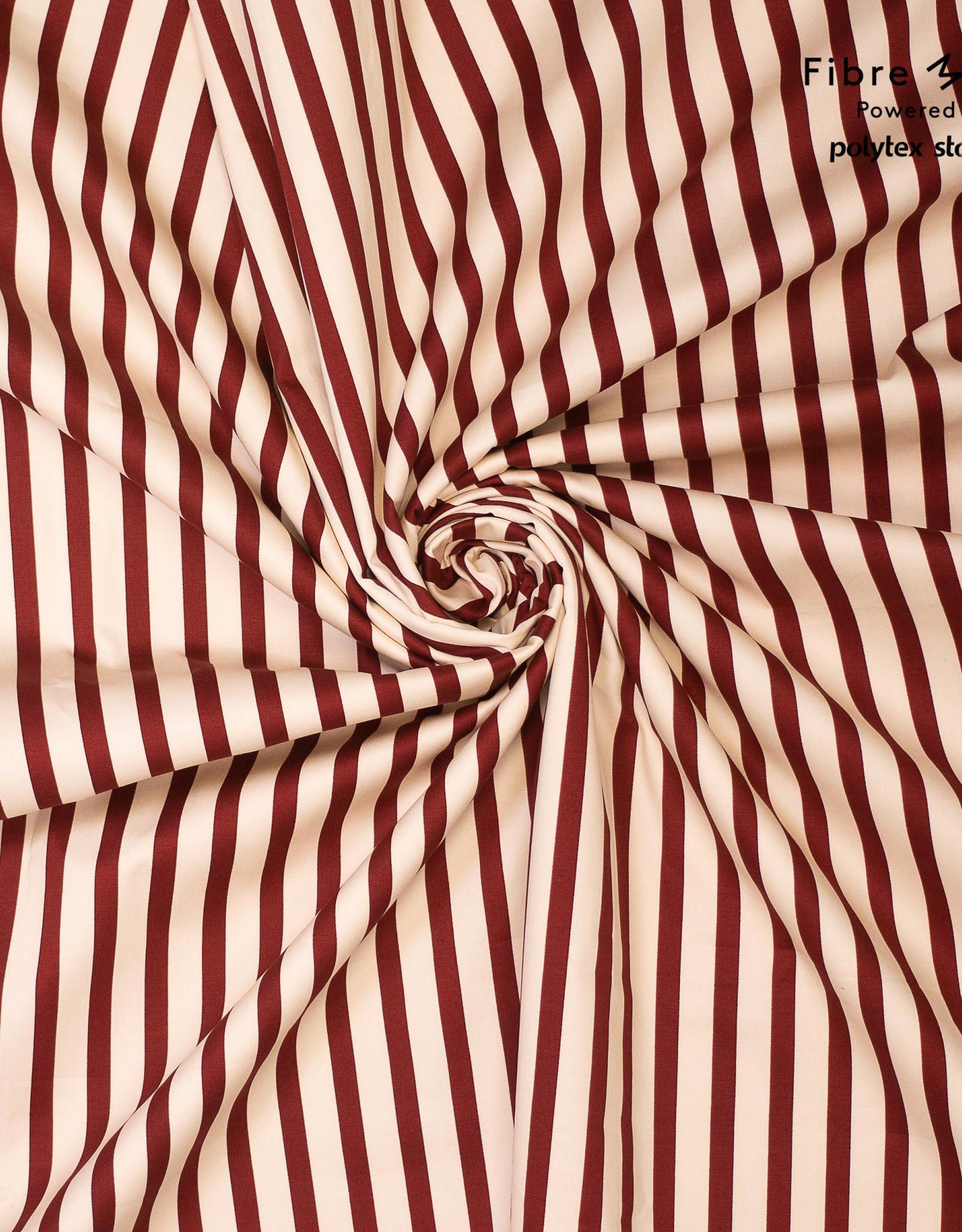 Fibre Mood Fibre Mood ed 14 Woven elastisch red stripes 10 Maya