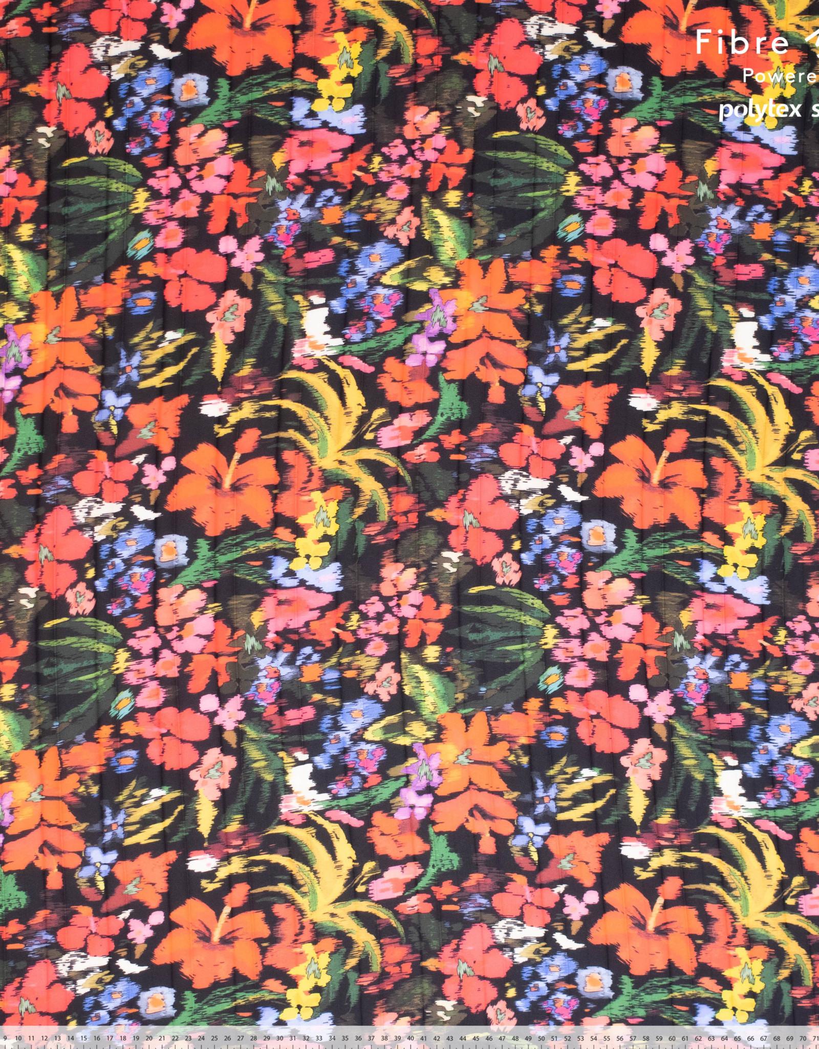Fibre Mood Fibre Mood ed 14 Woven polyester crepe flower print Bloom + Fiona