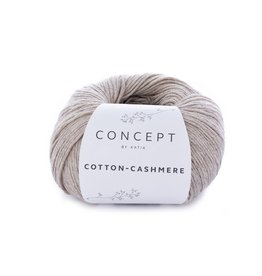 Katia Katia Cotton cashmere 55 - Medium beige