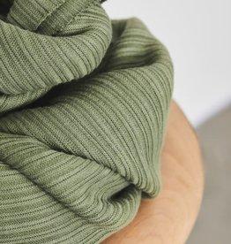 Mind The Maker Mind The maker Selanik Knit olijfgroen