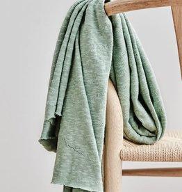 Mind The Maker Mind The Maker Slub Jacquard knit sagegreen
