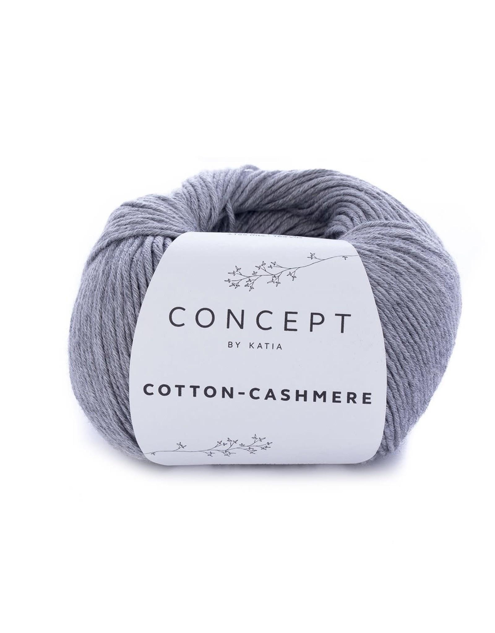 Katia Katia Cotton cashmere 59 - Grijs