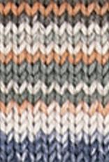Katia Katia Cotton Cashmere degrade 100 - Jeans-Oranje-Groenblauw