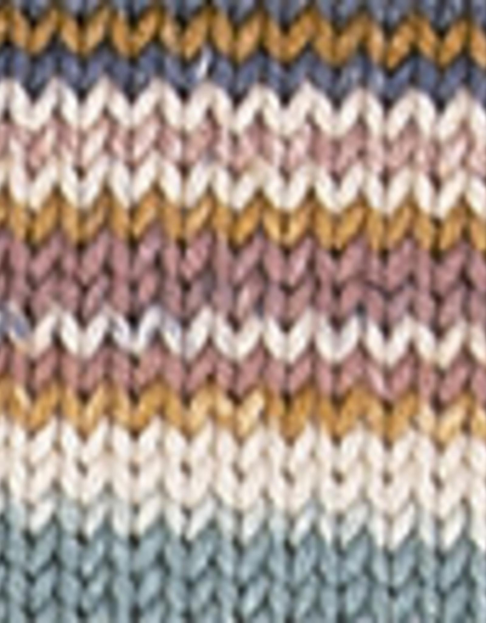 Katia Katia Cotton Cashmere degrade 106 - Oranje-Waterblauw-Oker-Blauw