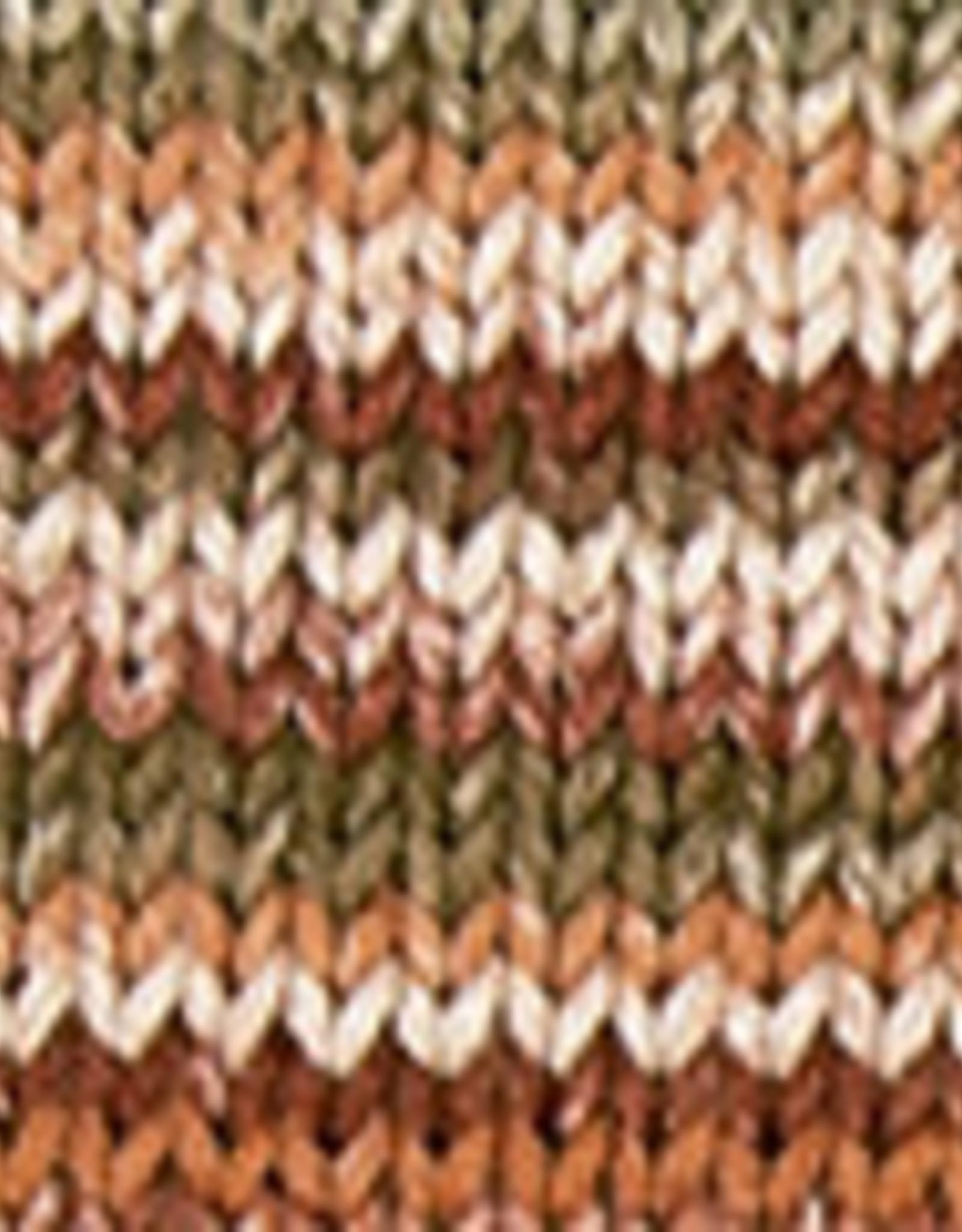 Katia Katia Cotton Cashmere degrade 105 - Kaki-Licht geel-Bleekrood