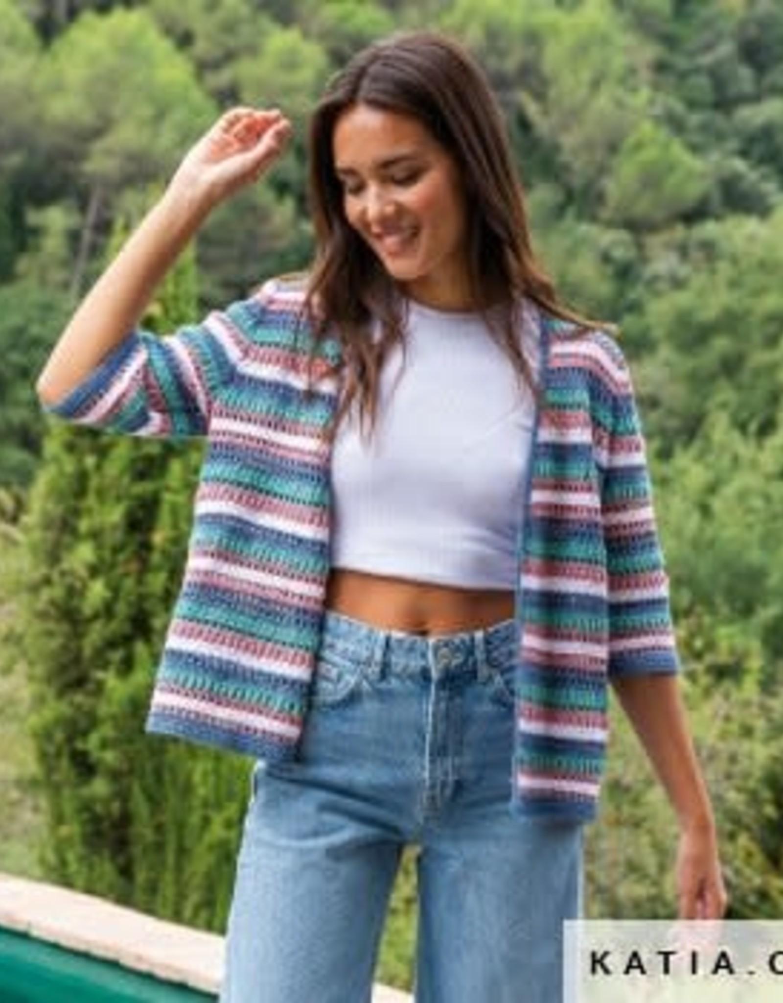 Katia Katia Cotton Cashmere degrade 101 - Beige-Bruin-Roestbruin