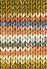 Katia Katia Cotton Cashmere degrade 107 - Kaki-Oker-Blauw-Wijnrood