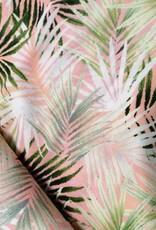 Editex Fabrics Editex Signature Viscose roze met blaadjes